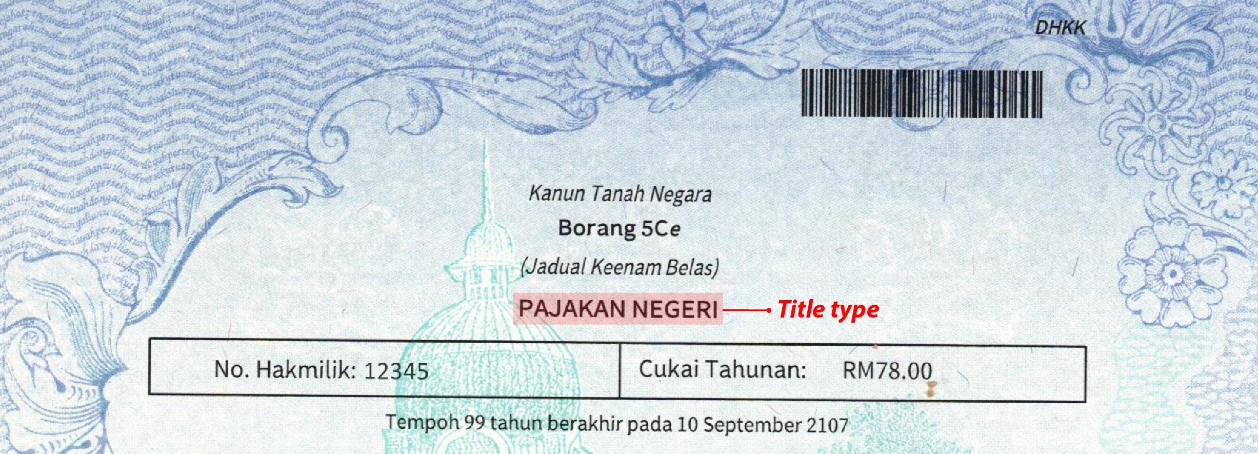 Title Type
